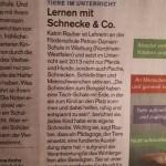 """Das schreibt die """"Norddeutsche Zeitung"""" übver uns."""