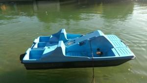 Tretbootfahren am Twistesee.